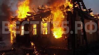Мужчина погиб на пожаре в Устюженском районе