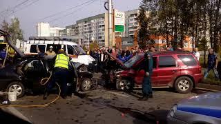 Авария в Суховке с двумя пострадавшими