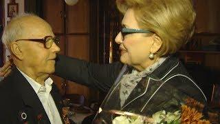Председатель гордумы Краснодара поздравила ветерана с 75-й годовщиной освобождения Кубани