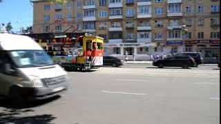 По Твери катается музыкальный трамвай
