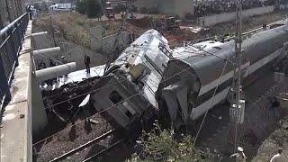 Крушение поезда в Марокко: число жертв поможет возрасти  …