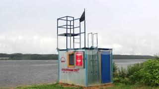 Купание на всех шести официальных пляжах Череповца запрещено