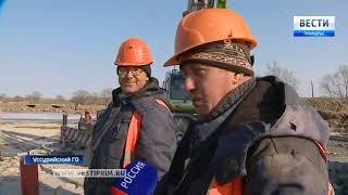 Строители моста через Кроуновку обещают сдать объект в срок