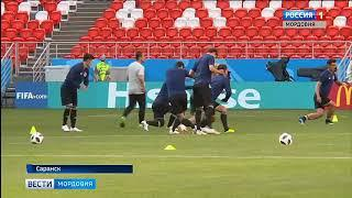 Как команды Колумбии и Японии готовились к матчу в Саранске
