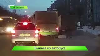 ИКГ Женщина выпала из автобуса #7