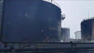 С огнём боролись целые сутки: на Хохряковском месторождении, наконец, ликвидировали возгорание