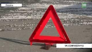 Большие сугробы, плохая видимость и собственная невнимательность - причины аварии на ул.Кулахметова