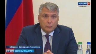 Полпред Александр Матовников встретился с главами субъектов СКФО