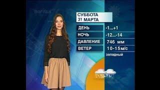 Прогноз погоды от Анны Чардымской на 1,2,3 апреля