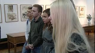 В художественном училище открылась выставка, посвященная памяти художника Вячеслава Серебрякова