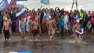 Моржи проплывут 400 км в ледяной воде от Абакана до Дивногорска
