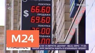 Какой курс валюты ждать в ближайшее время - Москва 24