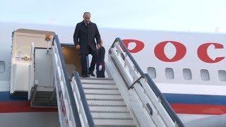 Владимир Путин побывал в Поволжье