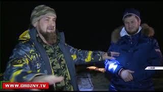 Рамзан Кадыров посетил селение Хой Веденского района