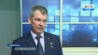 Летчик-космонавт Александр Самокутяев принял участие в теледебатах на ГТРК «Владивосток». 1