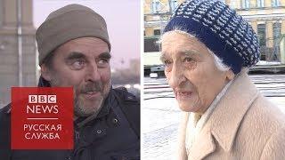 Прохожие в Москве и Киеве о запрете на въезд на Украину для российских мужчин