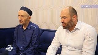 Шейх Ахмад Афанди встретился с именитыми спортсменами