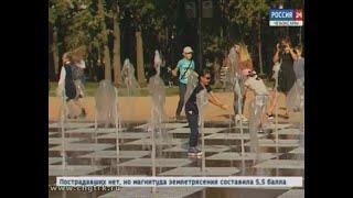 На Кадетском сквере не остановятся: на территории возле универмага  «Шупашкар» тоже забьют фонтаны