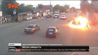 У селищі Крюківщина сталася ДТП за участі двох авто