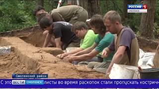 Смоленские находки изучат археологи из Москвы