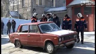 Учения по ликвидации последствий ДТП прошли в Череповце