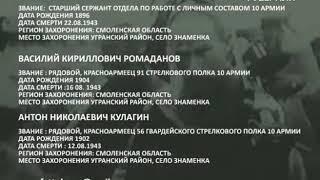 Родственников погибших солдат Великой Отечественной разыскивают в Самарской области
