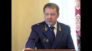 Александр Евстифеев представил нового прокурора Марий Эл