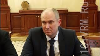 Главе Мордовии представлен новый руководитель регионального Управления Федерального казначейства