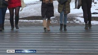 В Вологодской области стали чаще сбивать пешеходов