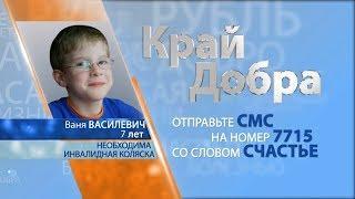 «Край Добра» помогает собрать деньги для Вани Василевича