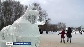 В Череповце подвели итоги конкурса ледяных скульптур