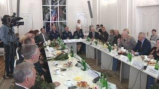 В Волгограде прошел торжественный прием воинов-интернационалистов