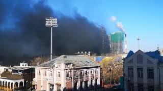 Один из самых дорогих новостроев России загорелся во Владивостоке. 2