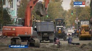 Человеческие останки обнаружили во время строительных работ на одной из улиц Барнаула