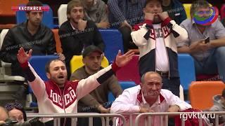 В Каспийске завершился международный турнир по греко-римской борьбе среди юниоров