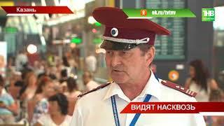 В международном аэропорту Казани журналисты увидели работу санитарно-карантинного пункта - ТНВ