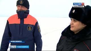 В Новосибирской области закрыли проезд по ледовым переправам