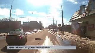 Иномарка сбила 8-летнюю девочку на пешеходном переходе в Рыбинске