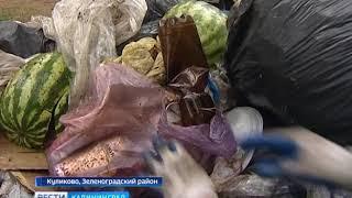 Куликово очистили от  мусора