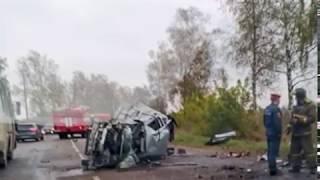 В Рыбинском районе столкнулись два автомобиля, погиб водитель