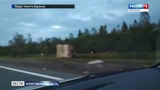Грузовик протаранил фуру в Череповецком районе: есть пострадавший