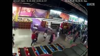 Видео с камеры наблюдения Зимняя Вишня Кемерово