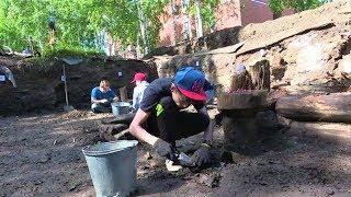 Берёзовская молодежь обнаружила уникальные артефакты в родном городе