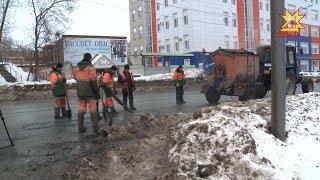 С потеплением в Чувашии начинается ремонт дорог.