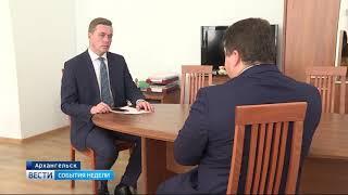 Интервью с Антоном Карпуновым - министром здравоохранения Архангельской области