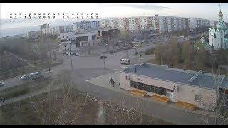 ДТП (авария г.  Волжский) ул. Мира ул. 40 лет Победы 01-12- 2018 15- 42