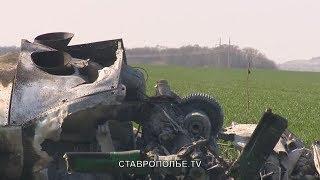 Пилот разбившегося МИ-2 в тяжелом состоянии