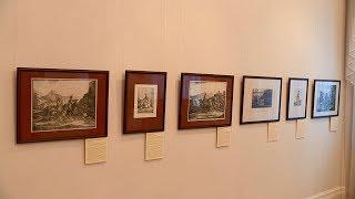 В Пензе представили подлинные работы Александра Орловского