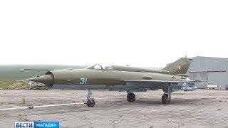 Магаданский памятник истребитель «МиГ 21» вернут после ремонта