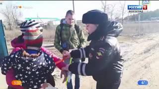 Автоинспекторы провели профилактическую акцию в Иловлинском районе
